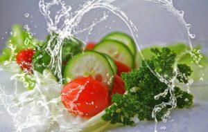 Thermische Lebensmittel Beispiel: erfrischender Salat